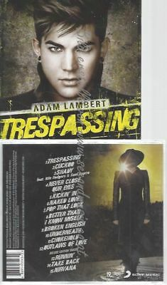 Cd--Adam Lambert--Trespassing -Deluxe Version-