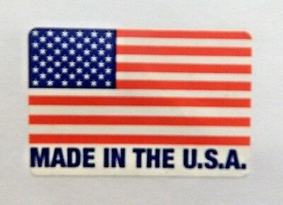MADE IN THE U.S.A. Sticker Buy It Now Auction Free Shipping 99 Cents .99 Cent