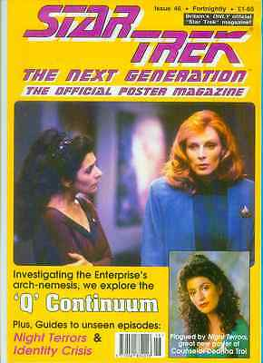 Star Trek Next Generation Official Poster Magazine # 46 (UK, 1993)