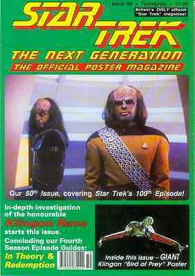 Star Trek Next Generation Official Poster Magazine # 50 (UK, 1993)