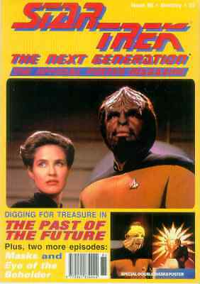 Star Trek Next Generation Official Poster Magazine # 85 (UK, 1995)