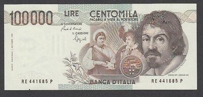 100 000 Lire From Italy 1983 A6 Unc