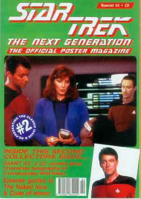 Star Trek Next Generation Official Poster Magazine Special # 2 (UK, 1995)