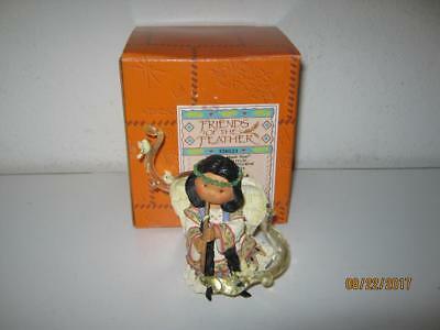 Enesco Friends Of The Feather-Let Your Music Soar-Angel With Flute-W/box