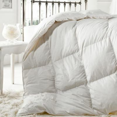 Rest Assured Luxury Softened Goose Feather Double Duvet Quilt 10.5 Tog Bedding