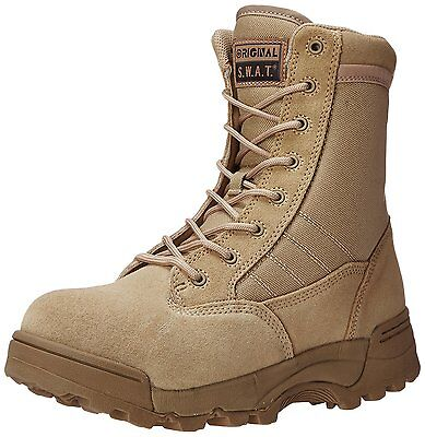 """Original S.W.A.T. Men's Classic 9"""" Side-Zip Safety Military and Tactical Boot"""