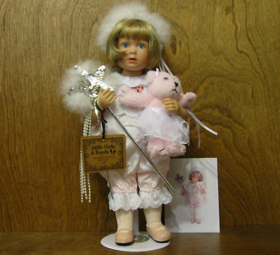 Boyds Yesterday's Child Porcelain Doll #4703 TINA w/ TUTU...JUST BEARLY BALLET
