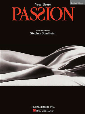 Passion The Musical Vocal Score Revised Sheet Music Stephen Sondheim Book NEW