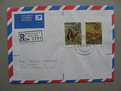 NAMIBIA, R-cover FDC 1993, insect butterfly (2)