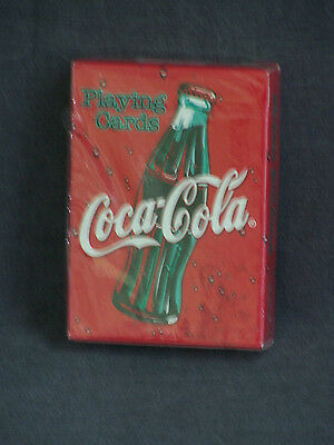 Vintage Coca Cola Bottle Bicycle Brand Playing Cards