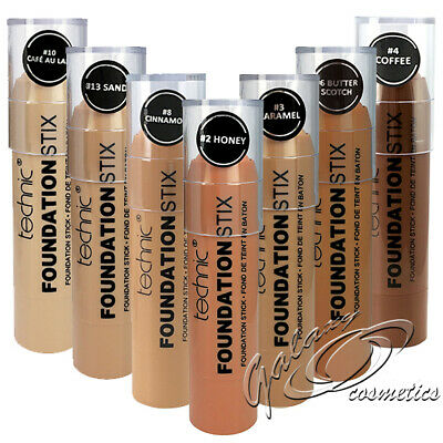 Technic Foundation Stix Light Medium Dark Skin Full Coverage Cream Make Up Stick