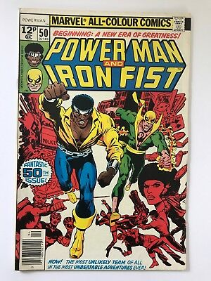 Power-Man and Iron Fist #50  (1st Duo Issue) 1978 V/VF Marvel American Comics