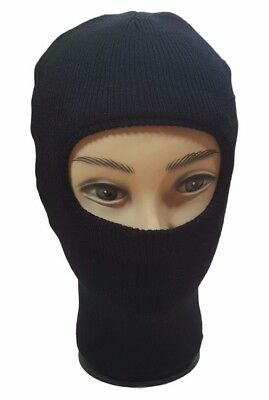 Men's Women's One Hole Winter Warm Knit Beanie Ski Face Mask Neck Hat Balaclava