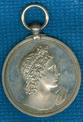 1915 British Silver Award Medal for the Royal Academy of Music