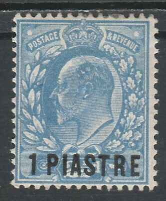 British Levant 1905 Kevii 1 Piastre On 21/2D
