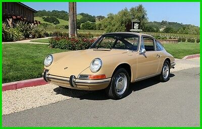 1967 Porsche 912 SHORT-WHEELBASE 912 COUPE 1967 PORSCHE 912 COUPE SAND BEIGE SUPERB ORIGINAL FLOORS/GAPS