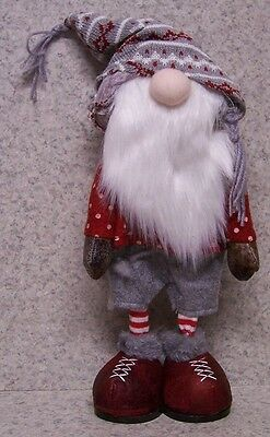 Christmas Table Decor Winter Gnome NEW Fireplace Mantel, Desk, Shelf, Ledge #1