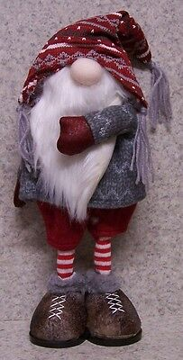 Christmas Table Decor Winter Gnome NEW Fireplace Mantel, Desk, Shelf, Ledge #2