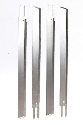 """KM OR NEW-TECH Straight Cutting Machine 5"""" Knife Blades - 12 Pack - US Seller"""