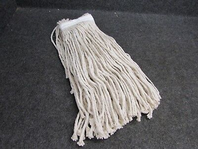 NOS! 20 oz COTTON MOP HEAD 8-PLY, REPLACEMENT MOP HEAD