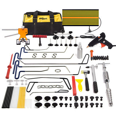 PDR Tools Paintless Dent Repair Puller Hail Rods Removal Puller Line Board Kits