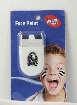 Collingwood Magpies AFL Face Paint * Team Stripes