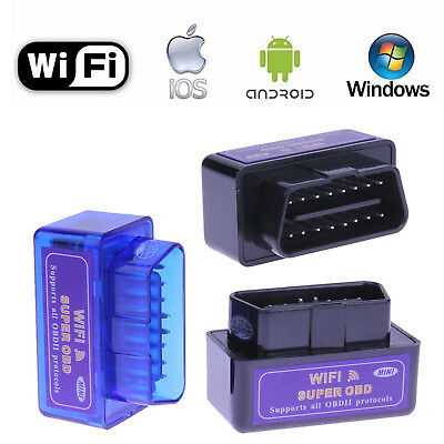 Super MINI WiFi OBD2  Car Diagnostic Scanner Tool For iOS Android Windows System