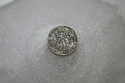 Vatican Papal States 5 Baiocchi 1861 R Silver Nice Details A69 #k6249