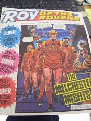 Roy of the Rovers-Vintage Comic-October 1986-Melchester Misfits-Kenny Dalglish