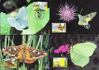 053133 WWF Schmetterlinge Butterfly Guernsey Maximum Card ´s