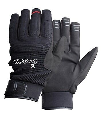 IMAX NEW Baltic Fishing Gloves Black - All Sizes