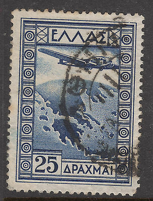 GREECE 1933 25d Air Very Fine Used
