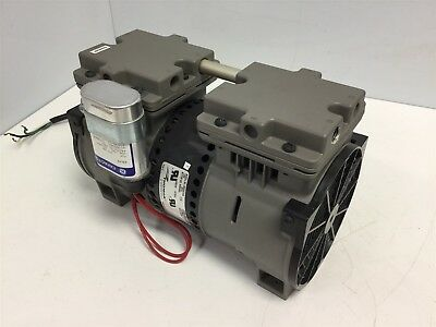 Thomas 2628VE44A Dual Stage Compression/Vacuum Pump Ports 1/4 NPT Voltage 115VAC