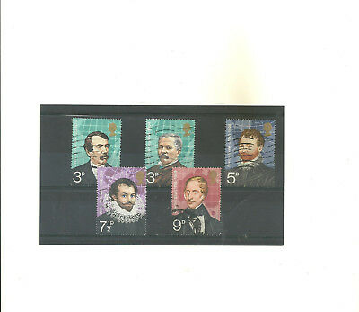 GB 1973 British Explorers used set of 5stamps