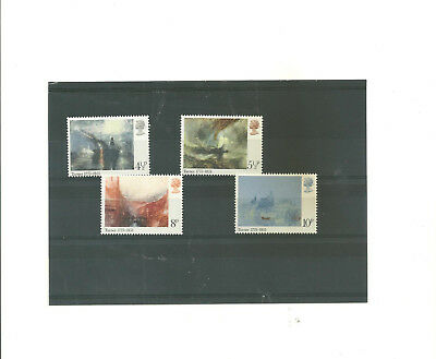 GB 1975    Birth  Bi cententenary of J.M.W .Turner set of 4 mint  stamps