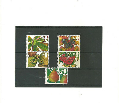 GB 1993 The Four Seasons    set of 5 mint  stamps