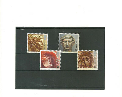 GB 1993 RomanBritain  set of 4 mint  stamps