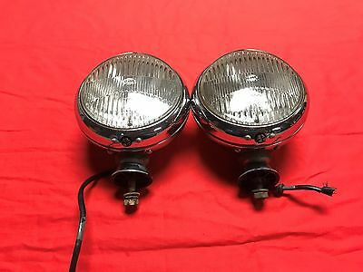 Original Hella 29110 Mercedes Benz 220 S W180 / 220 Se W128 Ponton Fog Lights