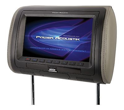 "Power Acoustik HDVD-71HD  7"" LCD Headrest Moniter w/ DVD MHL MobileLink"