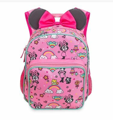 Disney Store Minnie Mouse Junior Small Backpack 10 Inch