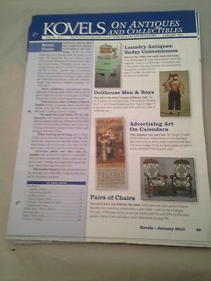 Kovels On Antiques and Collectibles Newsletters January thru December 2010
