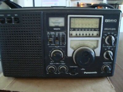 Panasonic 8 Band Short Wave Double Superheterodyne Radio Model No Rf-2200