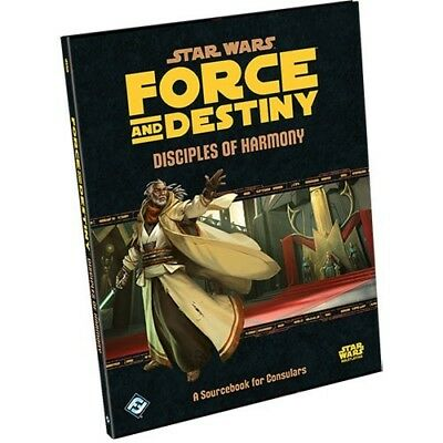 Star Wars: Force and Destiny RPG - Disciples of Harmony Sourcebook FFGSWF35