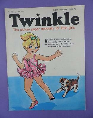 Twinkle Comic, Picture Paper For Little Girls #136 August 29th 1970