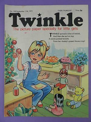 Twinkle Comic, Picture Paper For Little Girls #190 September 11th 1971