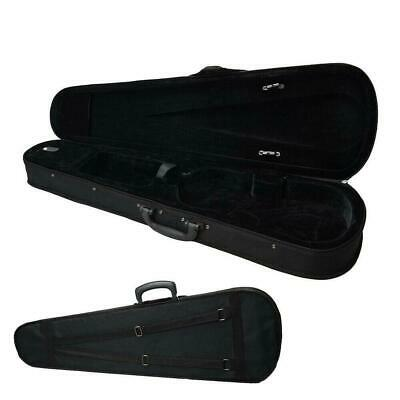 New Black  4/4 Full Size Acoustic Violin Case Bag