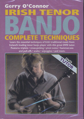Irish Tenor Banjo Complete Techniques 4-String Tuition DVD by Gerry O'Connor