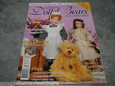 Australian Dolls, Bears and Collectables Vol. 12 No. 3 amazing miniatures