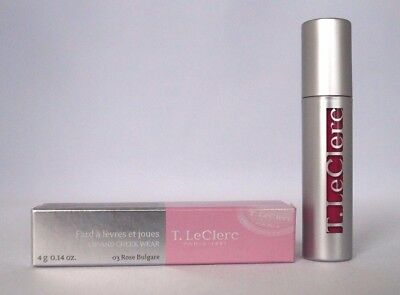 T. LECLERC - LIP AND CHEEK WEAR - 03 ROSE BULGARE 4Gr #85-11-2