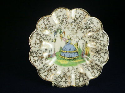 Empire Ware Crinoline Lady Small Dish